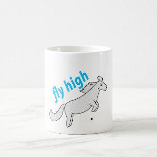 Fly High Pony Flea Bitten Gray Pony Coffee Mug