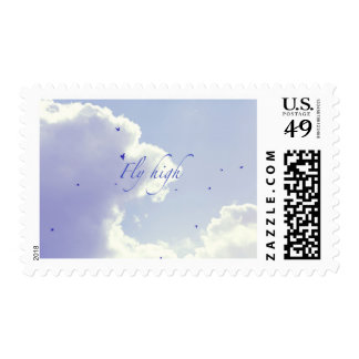Fly high postage