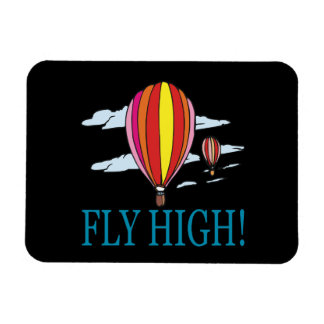 Fly High Rectangular Photo Magnet