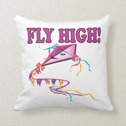 Fly High Throw Pillows