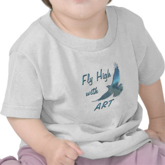 Fly High with Art T-shirt