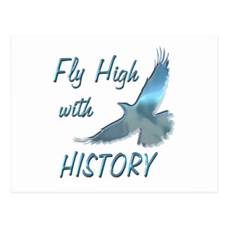 Fly High with History Postcard