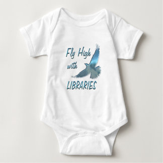 Fly High with Libraries Baby Bodysuit