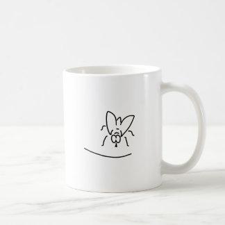 fly housefly eintagsfliege coffee mug
