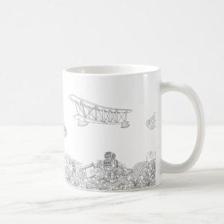 fly in my dreams coffee mug