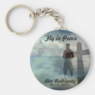 Fly in Peace Keychains