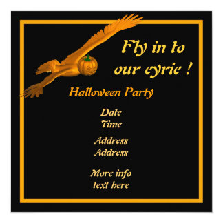 Fly in to our eyrie ! card