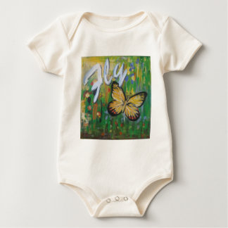 Fly Infant Organic Cotton Creeper