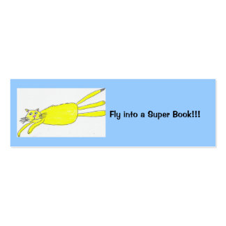 Fly into a Super Book!!! Double-Sided Mini Business Cards (Pack Of 20)
