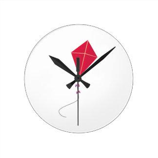 Fly Kite Round Wallclock