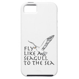Fly Like A Seagull To The Sea iPhone 5 Case