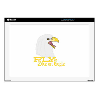 """Fly Like an Eagle 17"""" Laptop Decal"""