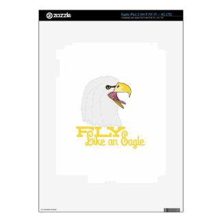 Fly Like an Eagle Decal For iPad 3