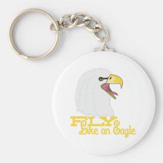 Fly Like an Eagle Keychain