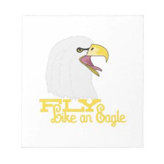 Fly Like an Eagle Notepad