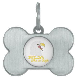 Fly Like an Eagle Pet ID Tag