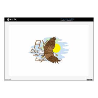 Fly Like an Eagle Laptop Skin