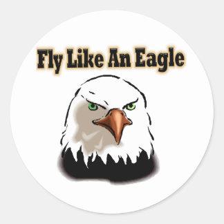 Fly like an Eagle Sticker