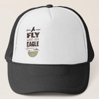 fly like an eagle trucker hat