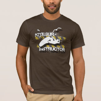 Fly like the birds, kitesurf instructor shirt