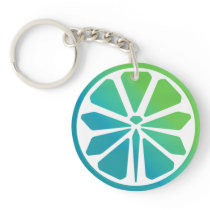 Fly Lime Keychain