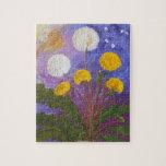 Fly Little Dandelion Fly Jigsaw Puzzle