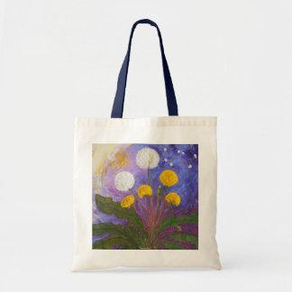 Fly Little Dandelion Fly Tote Bag