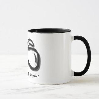 Fly-logo Broadcasting 'N' Yo Eardrum! Mug