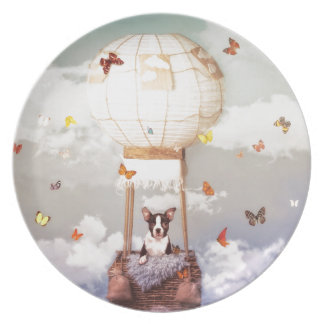 Fly me away plate