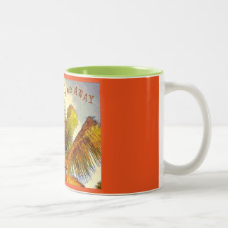 Fly Me Away Two-Tone Coffee Mug