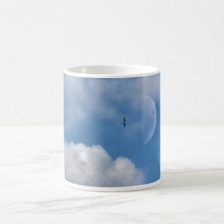 Fly me to the moon classic white coffee mug