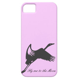 Fly me to the moon Design iPhone SE/5/5s Case