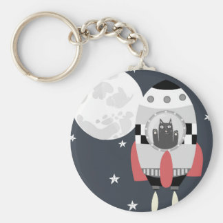 fly me to the moon keychain