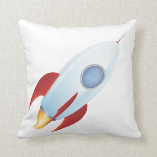 Fly me to the moon - Rocket Design Pillows