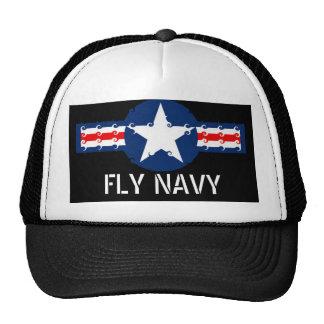 FLY NAVY TRUCKER HAT