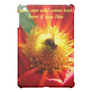 Fly on a Flower iPad Case