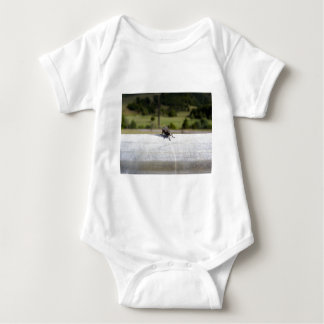 Fly On A Rail Baby Bodysuit