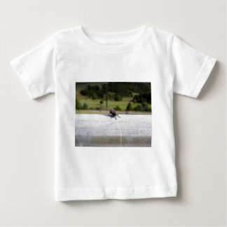 Fly On A Rail Baby T-Shirt