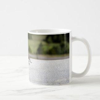 Fly On A Rail Coffee Mug