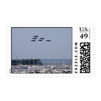 Fly-over Finale Postage Stamps