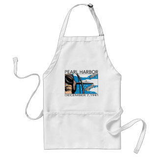 Fly Over Pearl Harbor Adult Apron