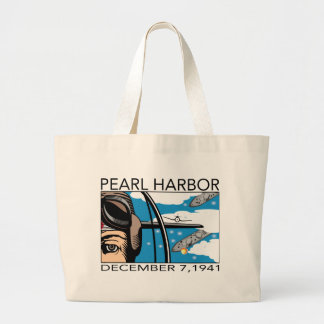 Fly Over Pearl Harbor Canvas Bag