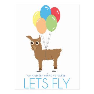 Fly Postcard