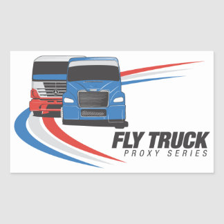 Fly Proxy Truck Series Stickers