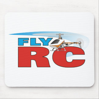 Fly RC Helicopters Mouse Pad