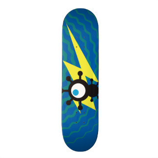Fly Robot & Blue Energy Skate Skateboard