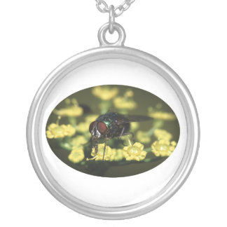 Fly Round Pendant Necklace