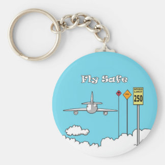 """Fly Safe"" Key Chains"