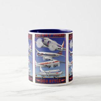 Fly Sky High-Mug Two-Tone Coffee Mug