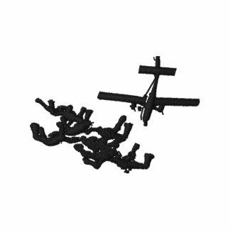 Fly Skydiver Sudadera Encapuchada
